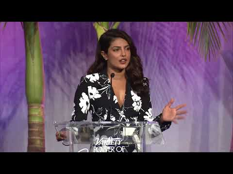 Priyanka Chopra – Full Power of Women Speech